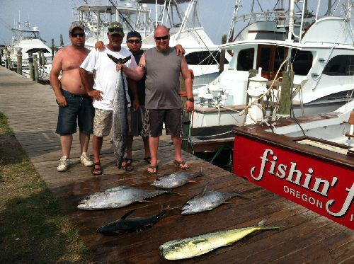 Fishing report 07 08 12 oregon inlet fishing center for Oregon inlet fishing report
