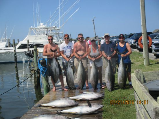 Fishing report 07 21 16 oregon inlet fishing center for Oregon inlet fishing report