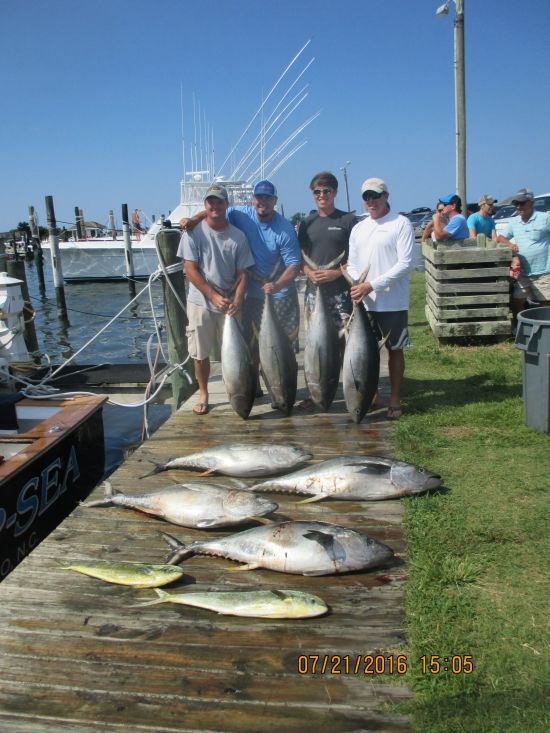 Fishing Report 07 21 16 Oregon Inlet Fishing Center